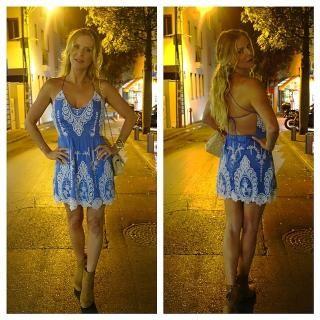 Dolce Vita Joao Dress in Dusty Blue | REVOLVE