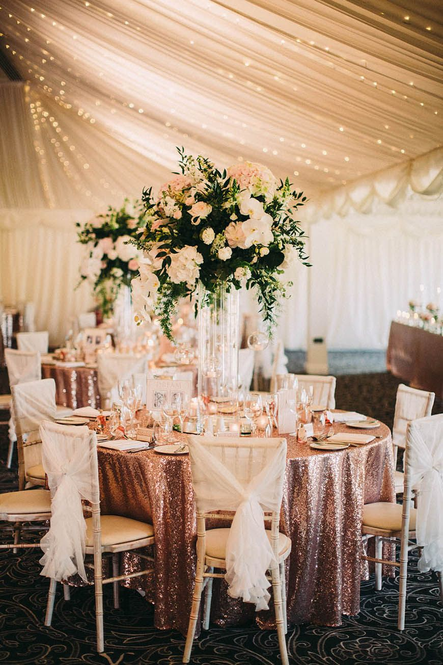 Wedding Ideas By Colour: Rose Gold Wedding Theme Saying