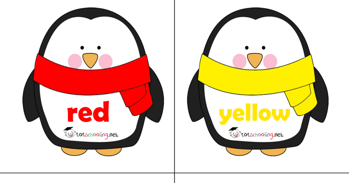 Penguin Winter Clothes Color Matching (With images
