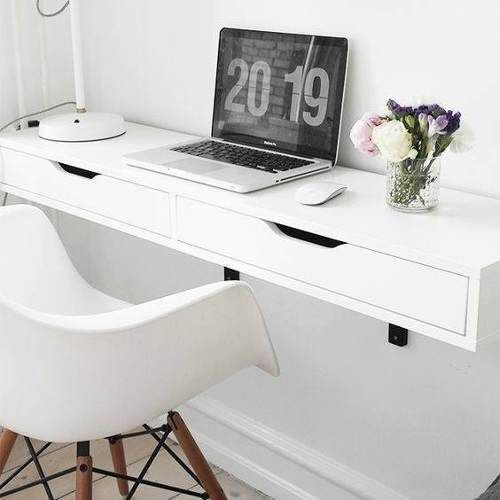 Escritorio De Diseño   Flotante Con Cajones cuarto Pinterest - diseo de escritorios
