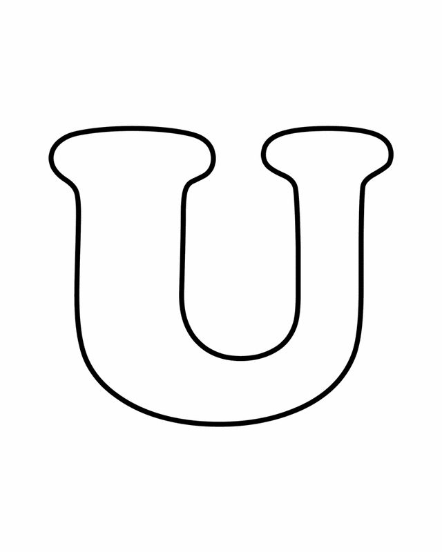 Letter U Alphabet Alphabet Coloring Pages Free Printable