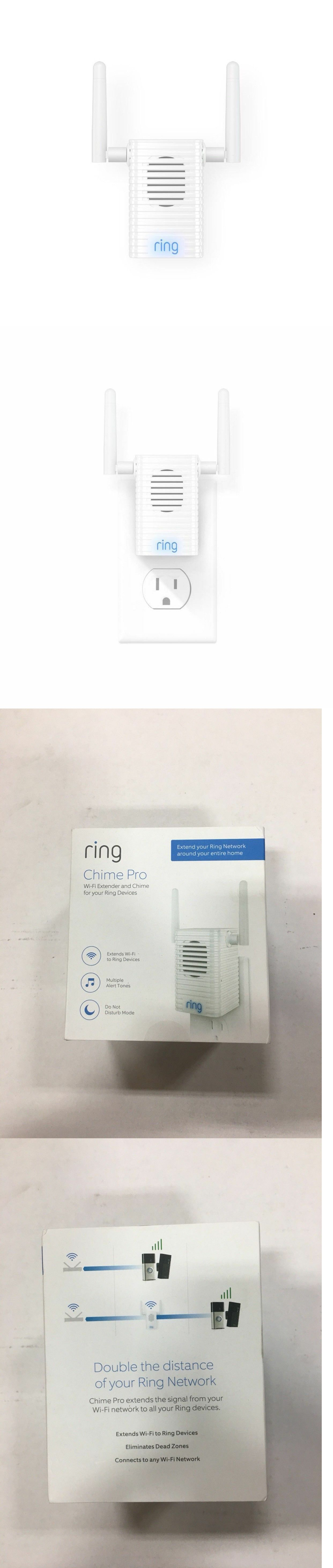 Doorbells 115975 Ring Chime Pro Wi Fi Extender And Indoor Chime For Ring Devices Brand New Buy It Now Only 42 On Ebay Doorbells Chimes Doorbell Ebay