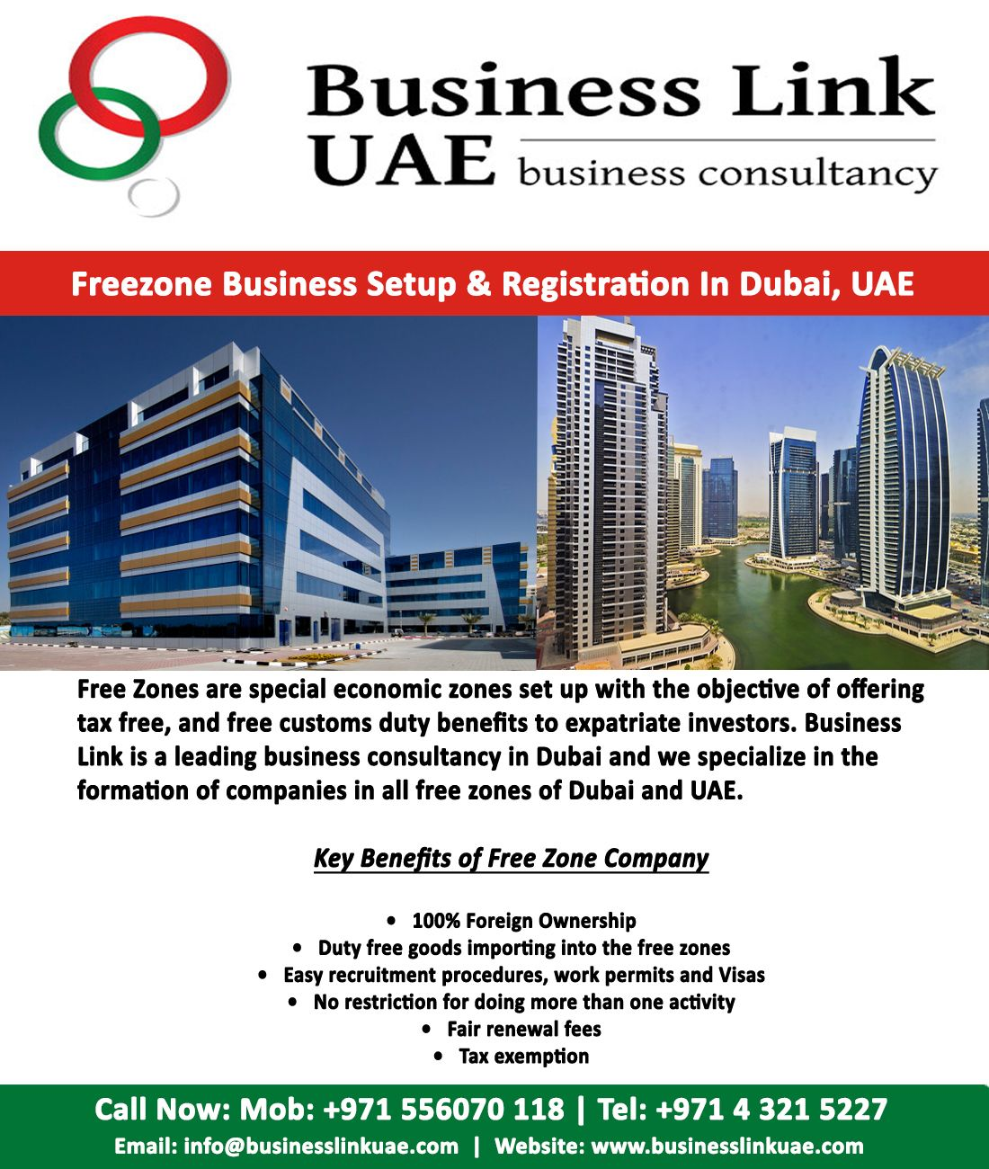 Get Expert Assistance for Free Zone Business Setup in