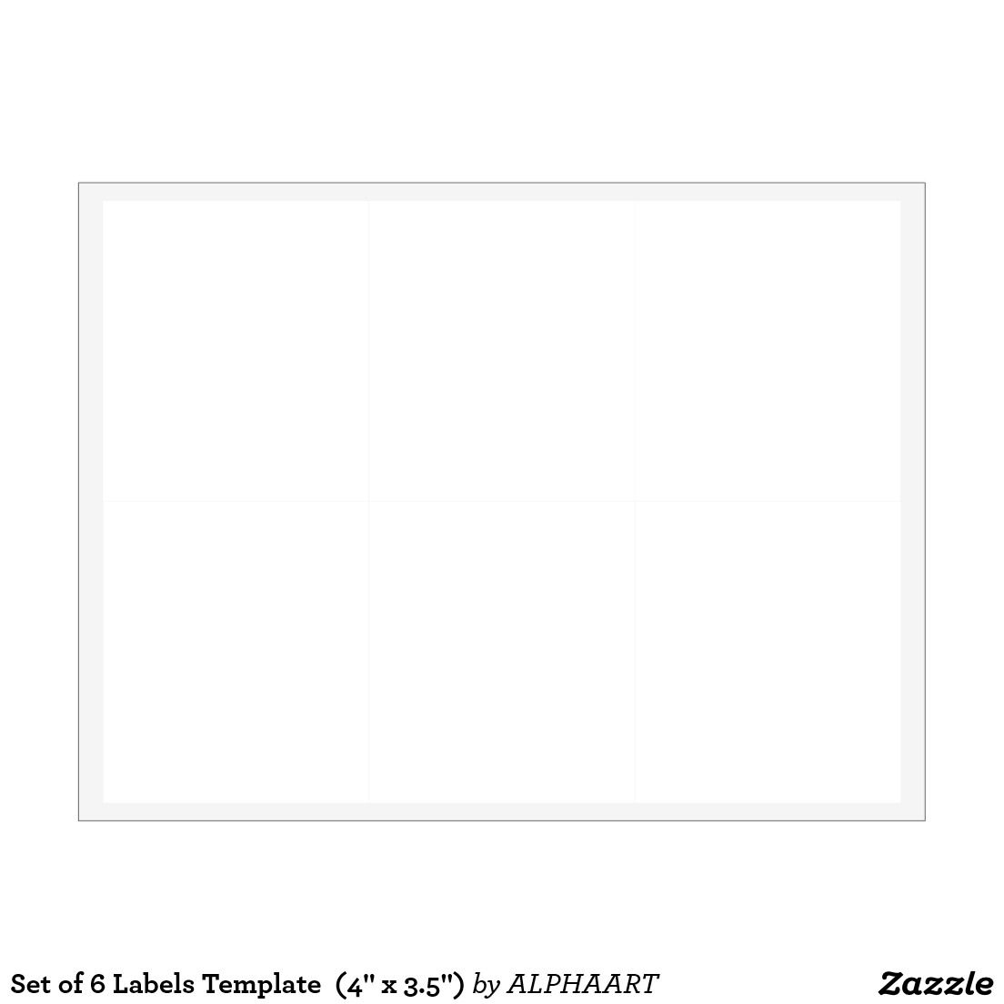 set of 6 labels template 4 x 3 5 label templates and template