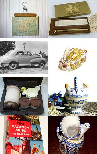 PICKING POTTERY IN SPAIN -- epsteam by Jeanette on Etsy--Pinned with TreasuryPin.com