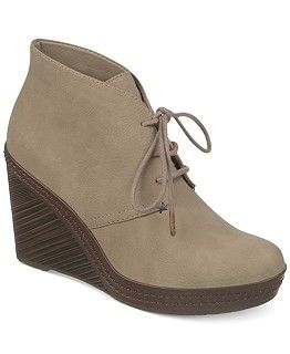 Dr. Scholl's Bethany Wedge Booties - Booties - Shoes - Macy's