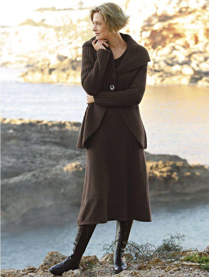 Yak Wool Sweater Dress