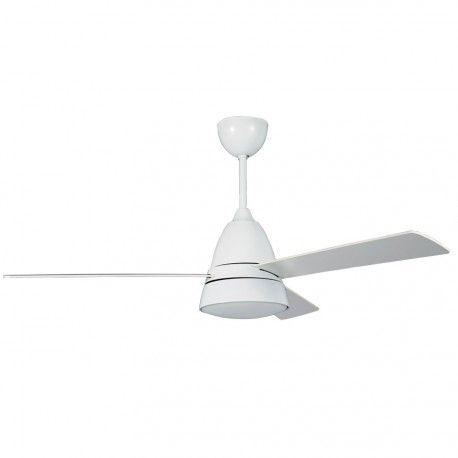 Ventilateur de plafond klassFan Snowy serie limité design blanc avec - ventilateur de plafond pour chambre