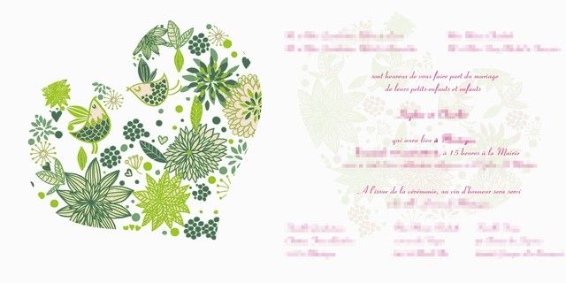 faire part mariage email