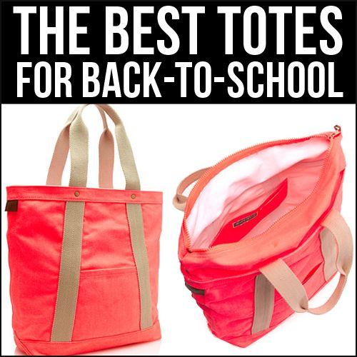 The 6 Best Totes for Back to School | School