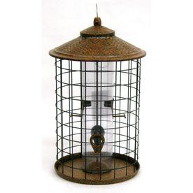 Beau Garden Treasures Metal Squirrel Resistant Tube Bird Feeder