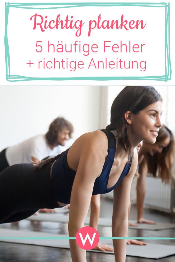 #bungsanleitung #hufigsten #vermeide #fitness #workout #richtig #hufigen #planken #übung #fehler #di...