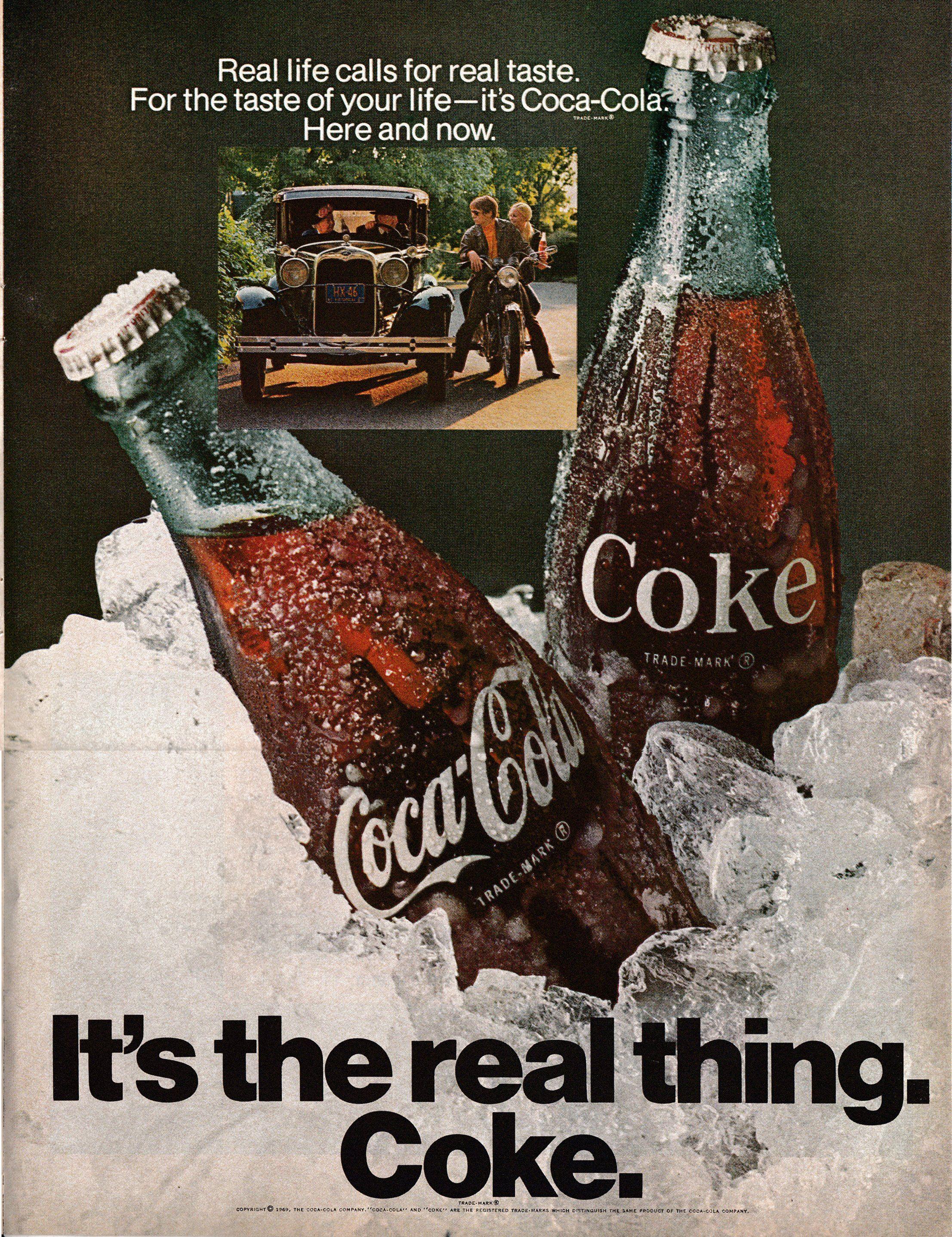 Coca Cola Print Ad 2019