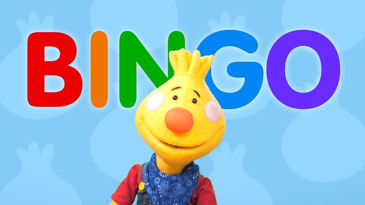🎶 B-I-N-G-O and Bingo was his name-o  🎶 On Sing Along With
