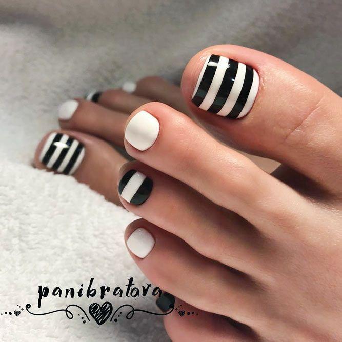 Diseños de uñas increíbles para tus pies perfectos ★ Ver más: naildesignsjourn ... -