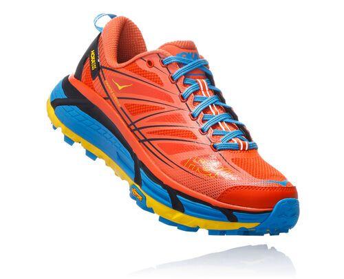 HOKA Men's Mafate Speed 2 Trail Running Shoe In Harbour Blue / Oil Blue, Size 7.5 #shoeboots