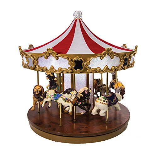 Mr Christmas Limited Edition Carousel * Be sure to check out this - christmas carousel decoration