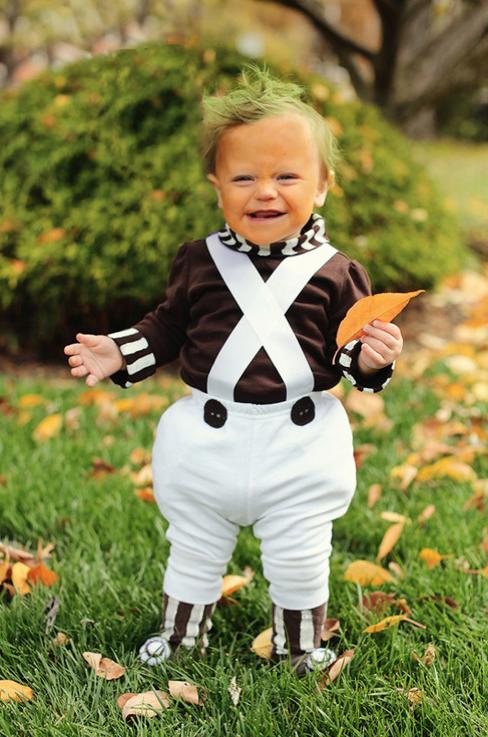 halloween ideas oompa loompa baby - Oompa Loompa Halloween
