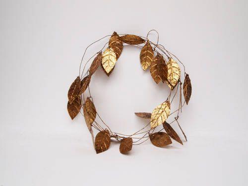 Leaf Garland Gold, $27