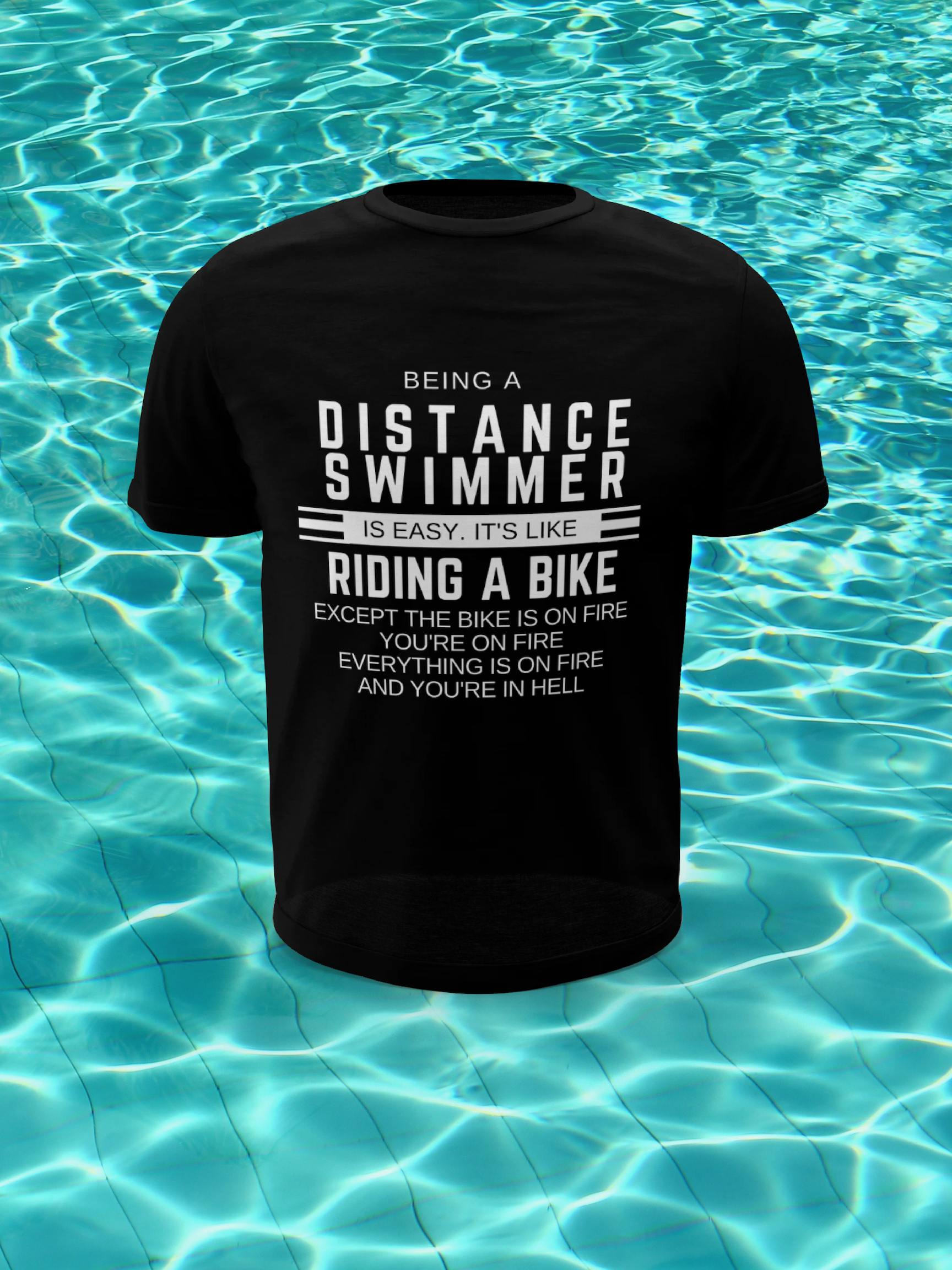 bcd54589 Swimming Quotes T Shirts - DREAMWORKS