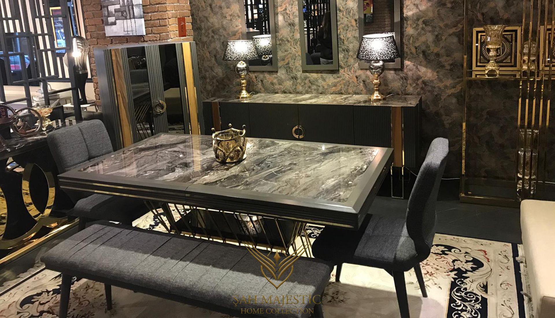 Doğal Mermerin sıcak yanını en özel tasarımlarla buluşturmaya özen gösteriyoruz. #sahmajestic #mobilya #masko #maskomobilyakenti #maskomobilya #evdekorasyon #evdekorasyonfikirleri #dekorasyonfikirleri #mobilyadekorasyon #luxuryfurniture #modernfurniture #furniture #decor #ofisdekorasyon #evdekor #projects #köşekoltuk #design #bedroomdesign #koltuktakımları #yemekodası #yatakodası #interiordesign #mobilya #istanbul