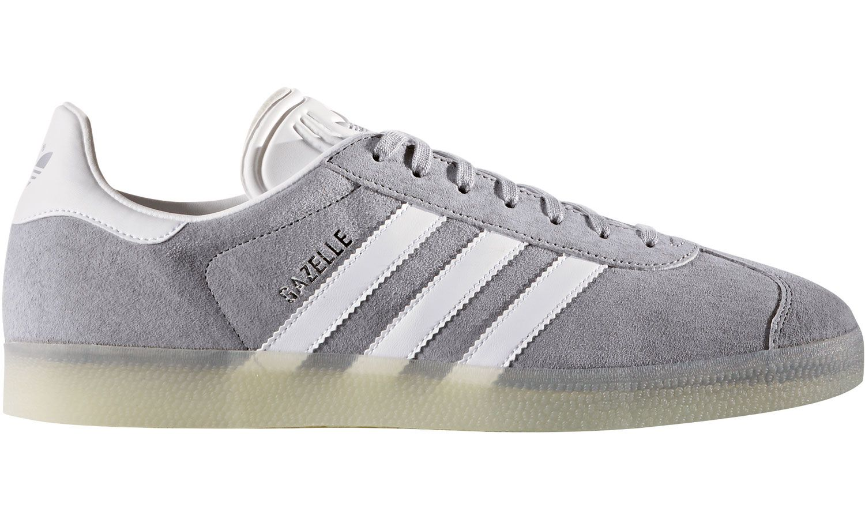 adidas Gazelle Schuhe weiss-grau