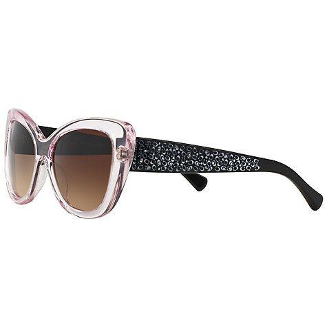 c4ed2d417c Buy Coach HC8143B Embellished Cat s Eye Sunglasses Online at johnlewis.com