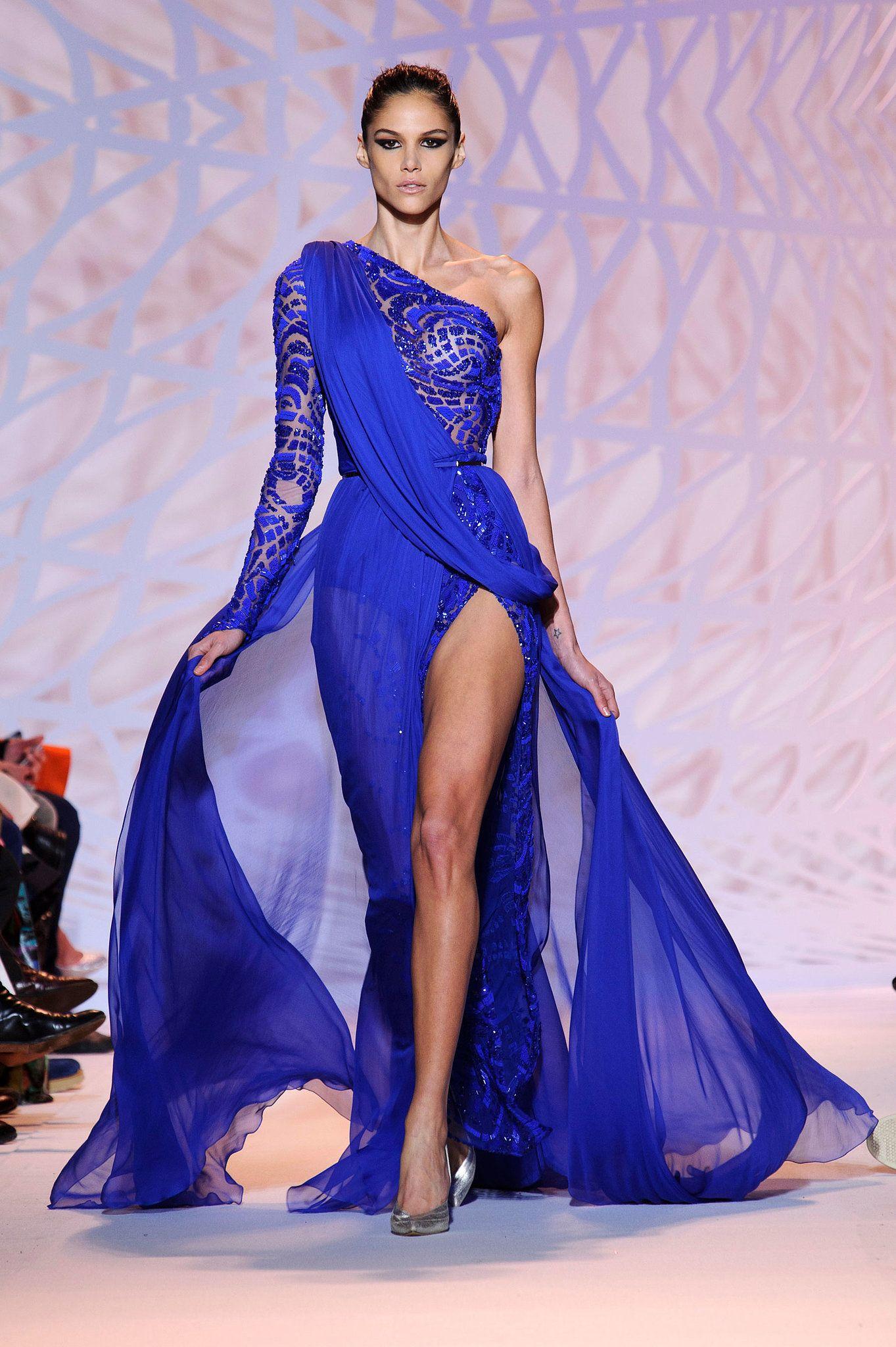 Zuhair Murad Haute Couture Fall 2014   Brillo, Princesas y Zapatos