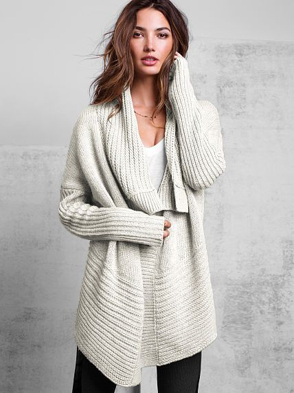 One-button Cardigan Sweater-Medium Heather Grey-Medium | style ...