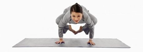 this challenging arm balance pose is an excellent way to