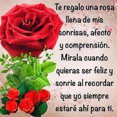 Frases De Amor Con Rosas Y Corazones - Imagenes De Amor