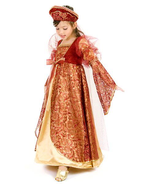 Girls Princess Ann Child Costume