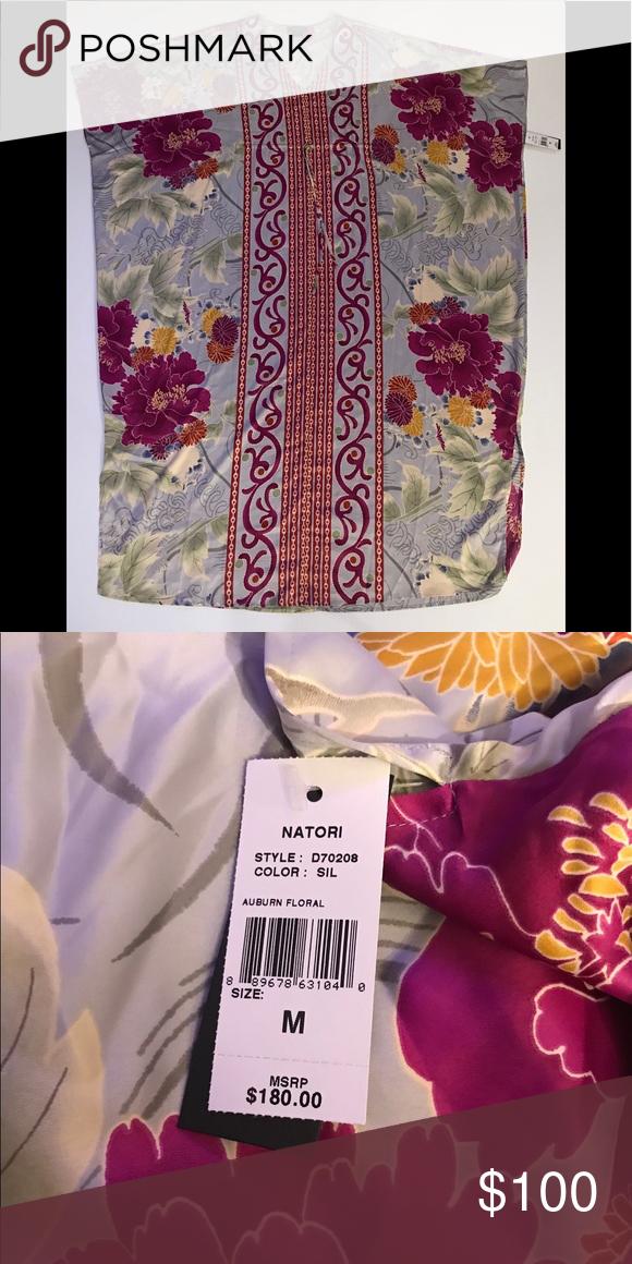 18f44535889 Natori NWT sz Medium Floral print  302 Natori Intimates   Sleepwear ...