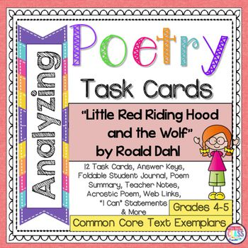Little Red Riding Hood And The Wolf Roald Dahl Poetry