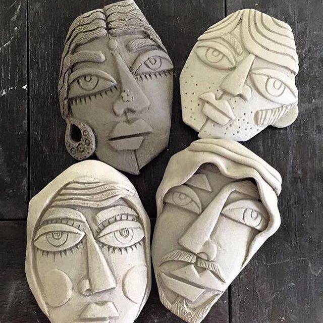 Sculpture حجم Clay Ceramics Ceramics Pottery Art Sculpture Clay