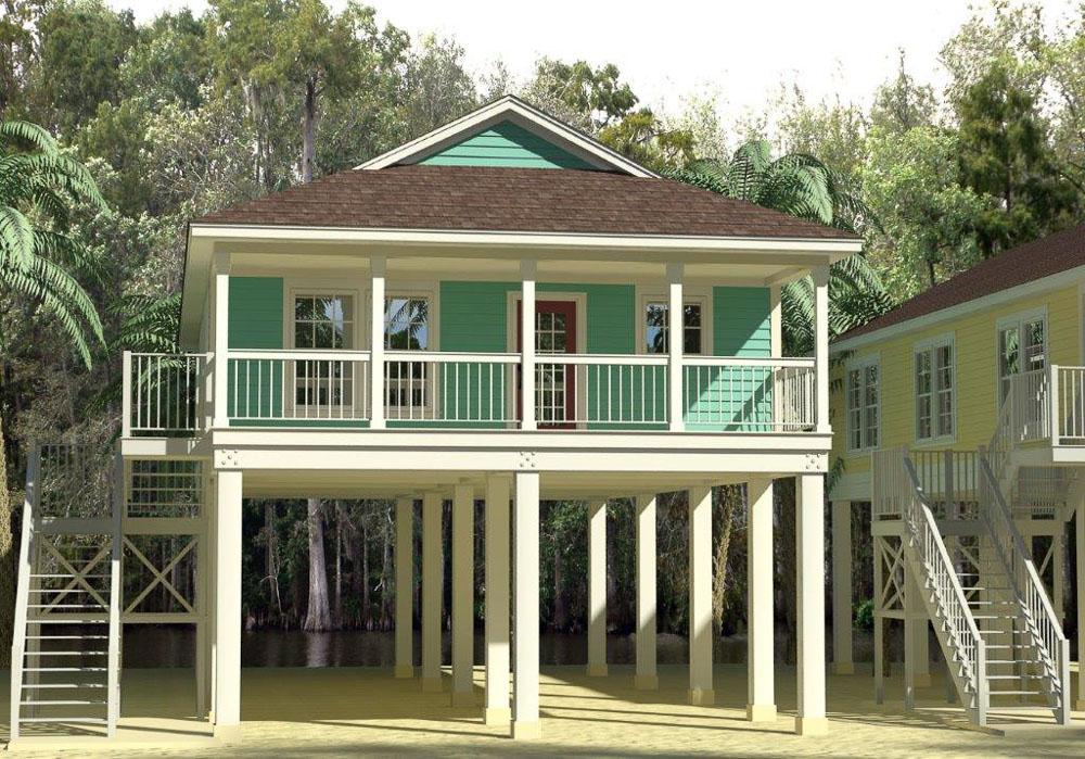 Custom Manufactured Stilt Homes & Modular Stilt Homes Ocala Custom Homes