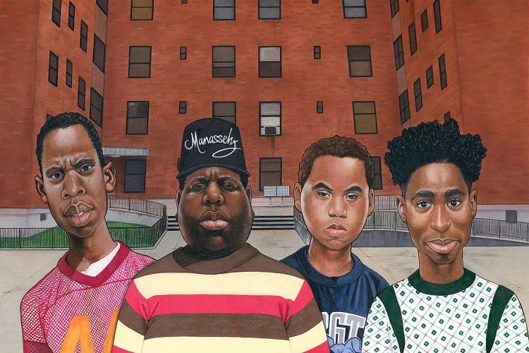 Boyz N Da Hood Hiphop Legends Canvas Print By Manasseh Johnson Icanvas In 2021 Hip Hop Art Hip Hop Hip Hop Culture