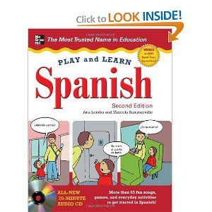 Play and Learn Spanish with Audio CD, 2nd Edition  Love this
