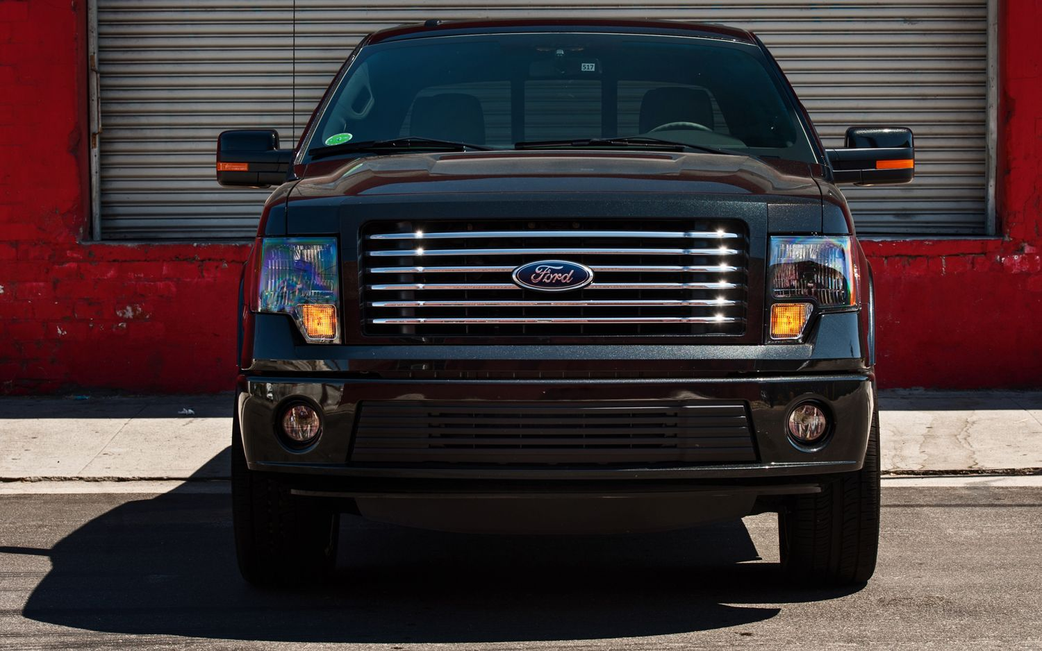 2012 Ford F 150 Supercrew Harley Davidson Edition Front Grill