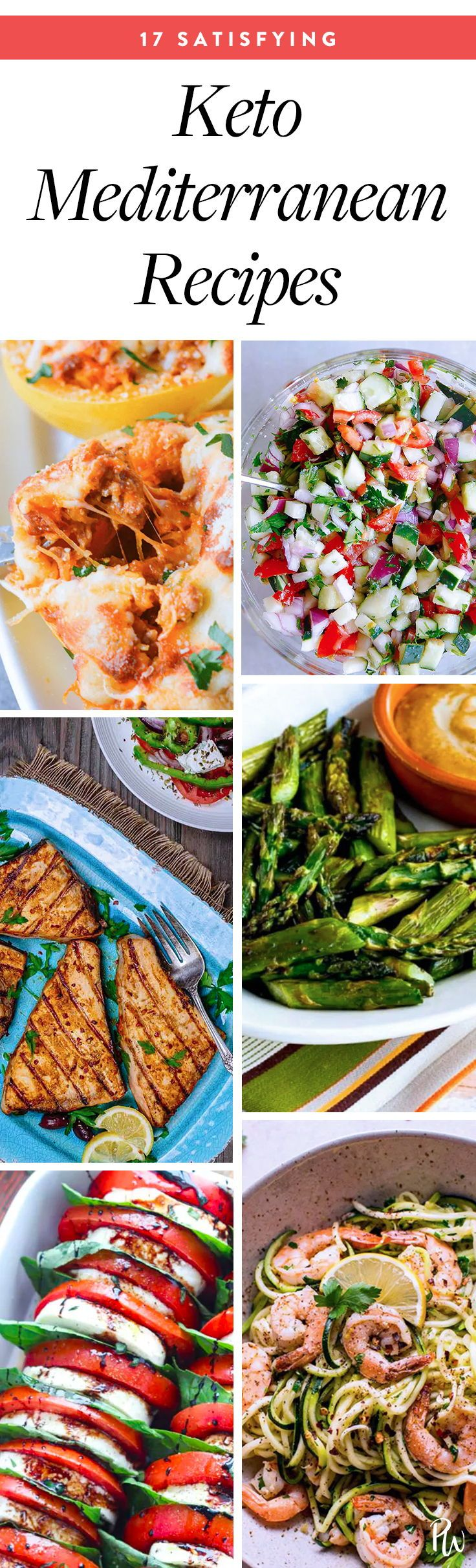 23 Mediterranean Recipes That Are On The Keto Diet Mediterranean Recipes Keto Diet Recipes Mediterranean Diet Recipes