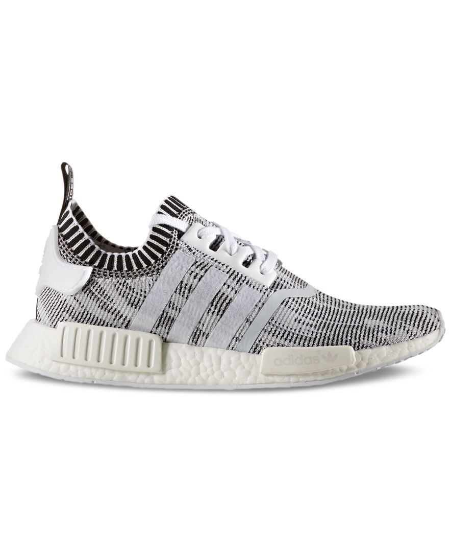 94a1be0d5a4b adidas Men s Nmd R1 Primeknit Casual Sneakers from Finish Line ...