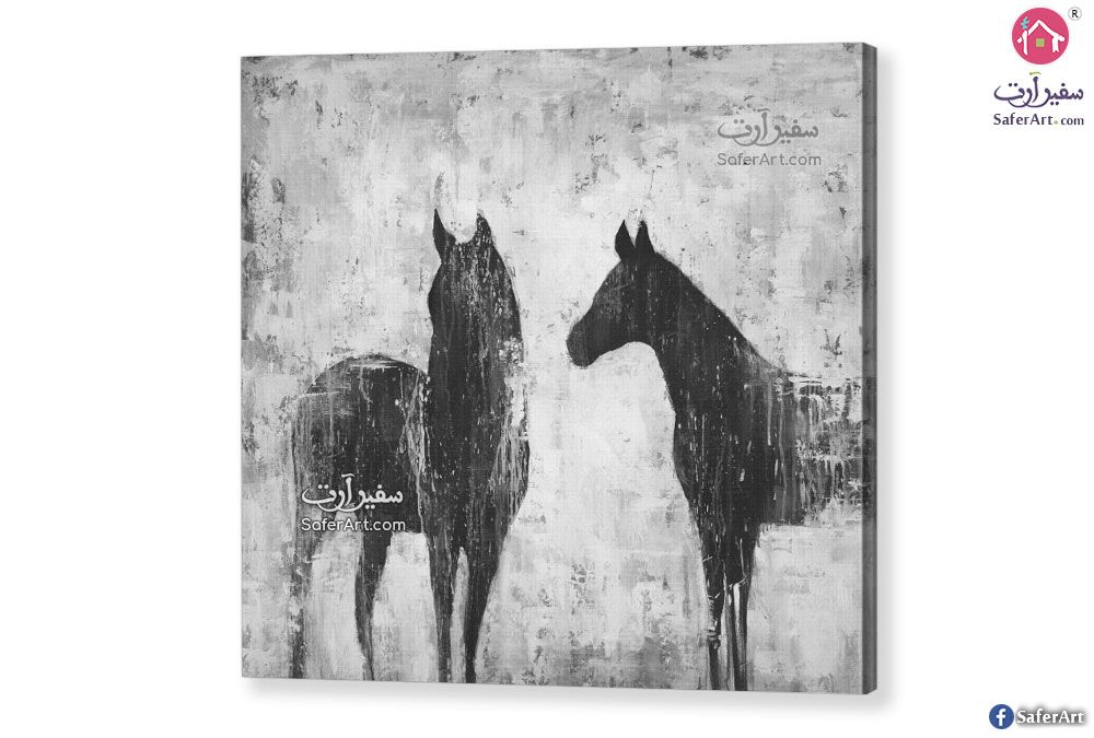 لوحات مودرن أحصنة سفير ارت للديكور Canvas Art Prints Canvas Art Wrapped Canvas Art