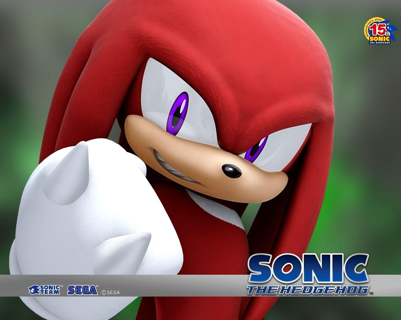 Knuckles Wallpaper Sonic