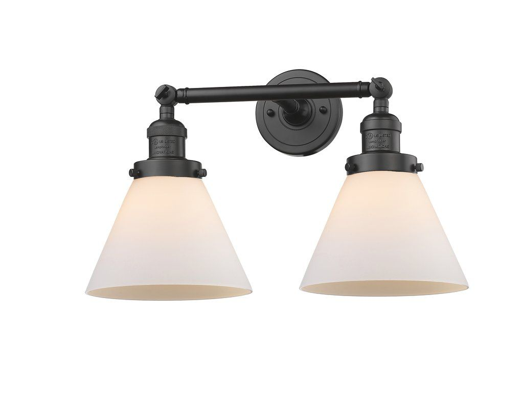 Photo of Omorphita 2-Light Dimmable Armed Sconce