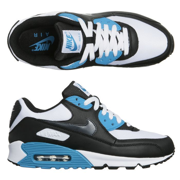 nike air max 90 baskets bleu