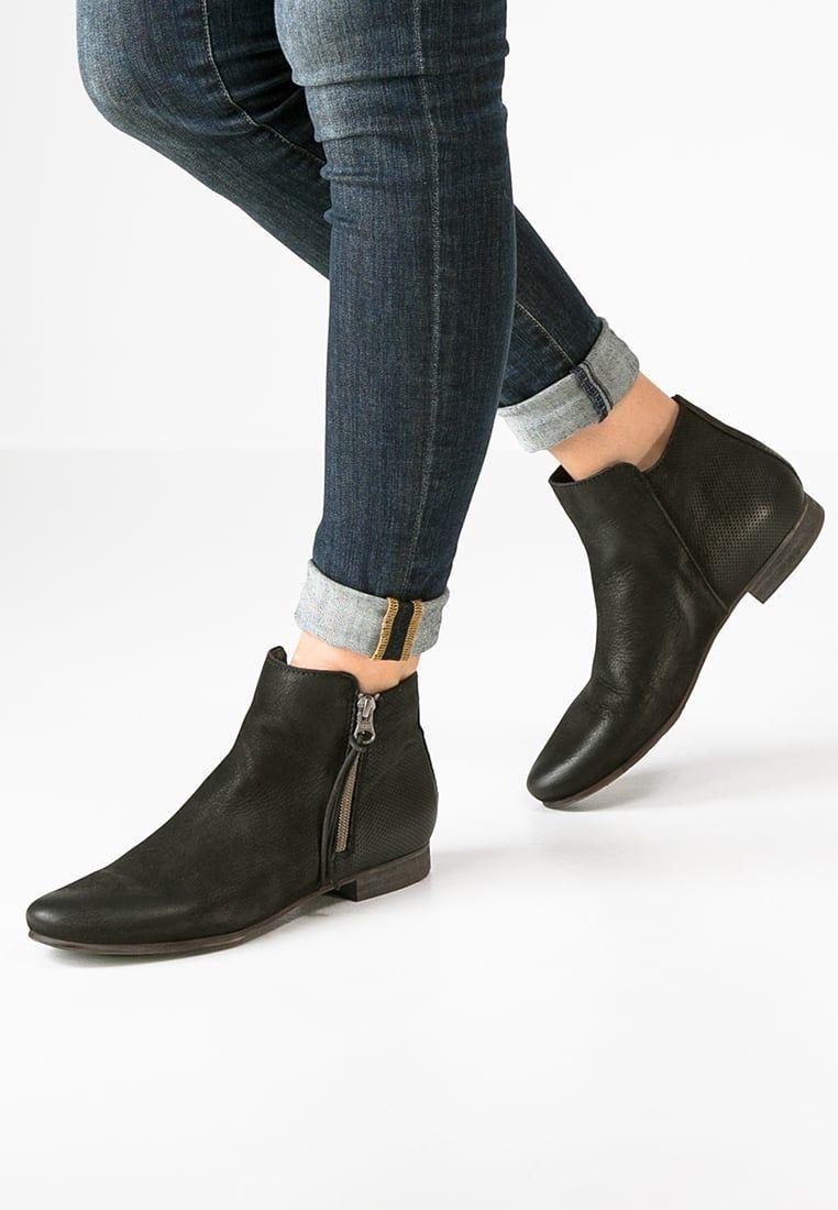 Felmini Guarda Ankle Boot Black Zalando Pl Black Boots Black Ankle Boots Ankle Boot