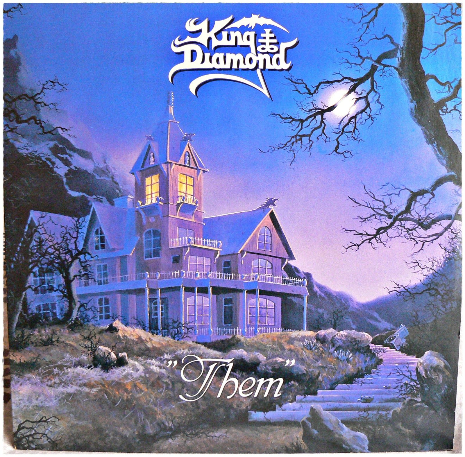 King Diamond Them 1988 King Diamond Mercyful Fate Metal Albums