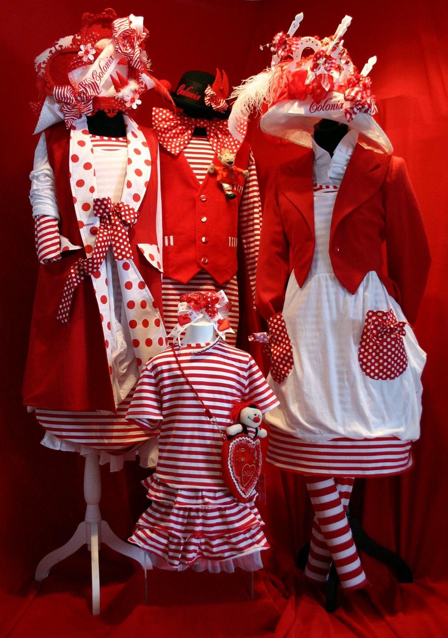 Title Mit Bildern Kostüm Rot Weiß Karneval Kostüm