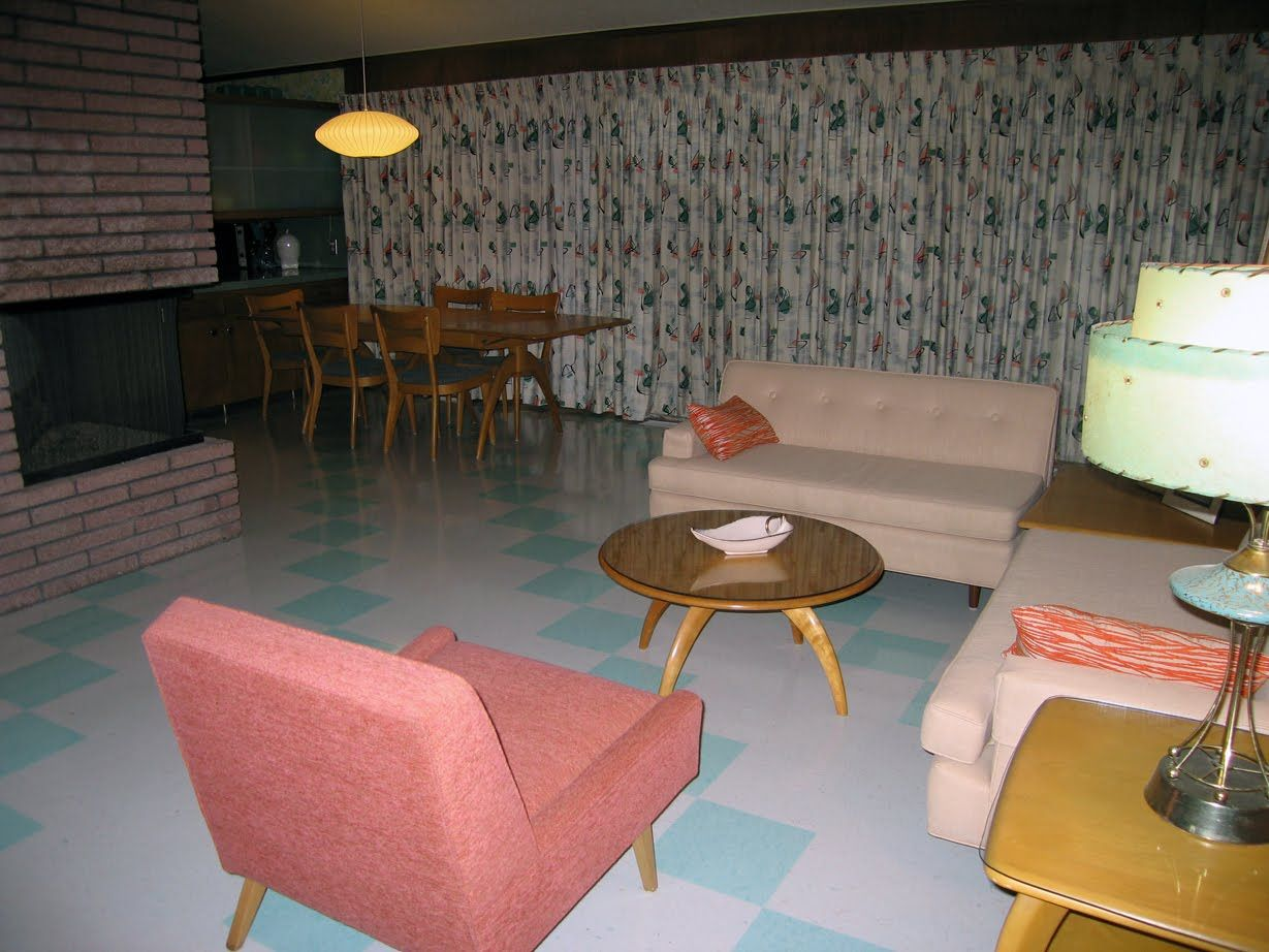 Genial Vintage Rec Room/basement. I Remember When Basements Looked Like This!