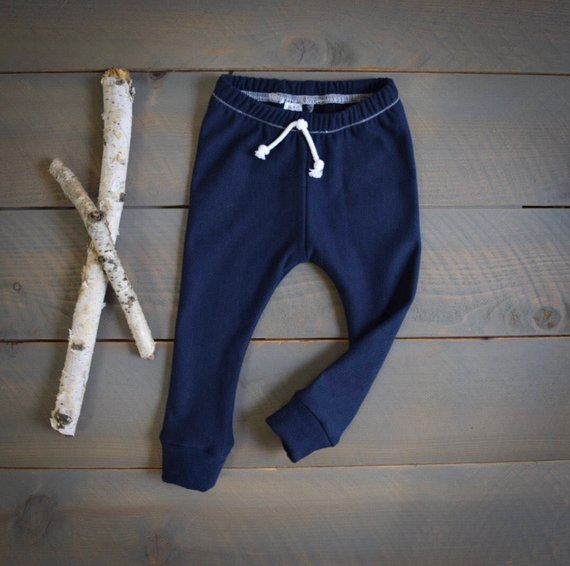 f2fc5d947 baby joggers navy, organic infant toddler sweatpants, baby leggings navy,  organic sweatpants, toddle